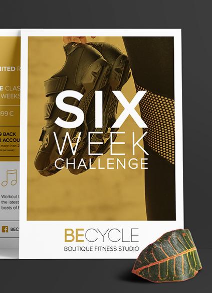 BeCycle Berlin Flyer - ZENKER DESIGN